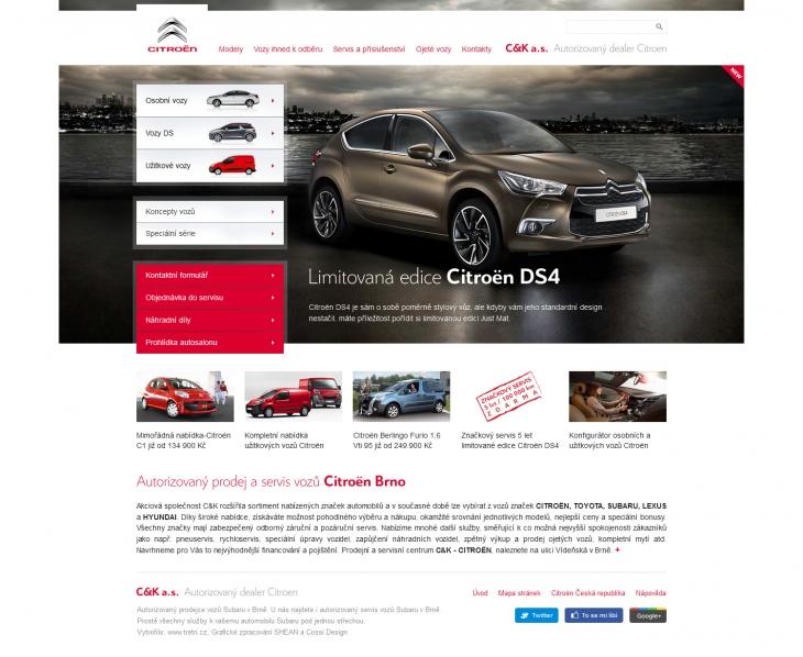 Projekt: Citroen Brno